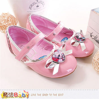 魔法Baby 女童鞋 冰雪奇緣授權正版公主鞋~sa54343
