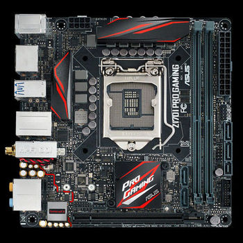 【ASUS 華碩】Z170I PRO GAMING ITX 主機板