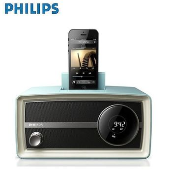 PHILIPS飛利浦 復刻時鐘iphone5專用揚聲器(ORD2105B)