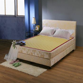 ESSE 御璽名床 #蓆面+布面冬夏兩面系列#健康床墊  6x6.2 尺 -加大