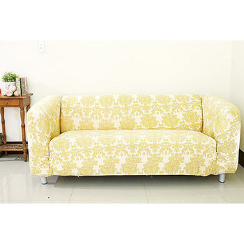 【Osun】防蹣彈性沙發套、沙發罩五色圖騰-四人座