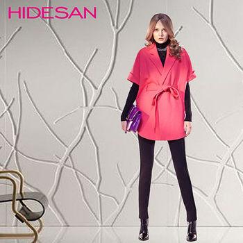 秋冬韓流女星最愛修身顯瘦翻領羊毛外套