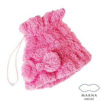 【MARNA】造型浴巾帽(粉/黃)