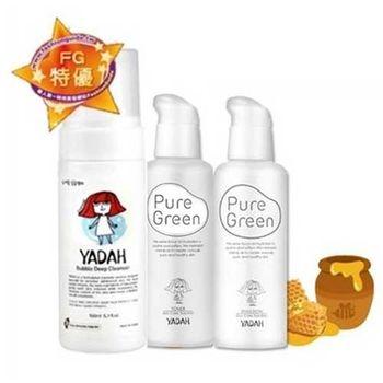 YADAH新超保濕純淨調理洗顏3入組