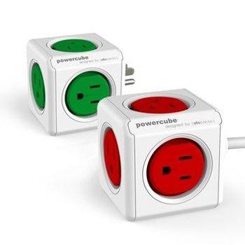 【PowerCube】魔術方塊延長線 (紅+綠 超值組合)