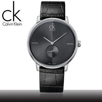 【瑞士 CK手錶 Calvin Klein】高雅時尚簡約男腕錶(K2Y211C3 - 大)