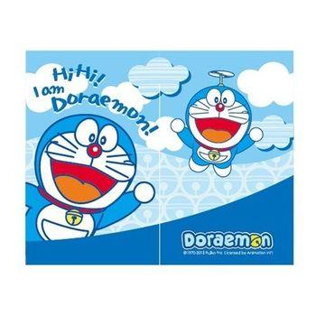 哆啦A夢Doraemon雲朵中門簾-藍68x85cm(FL828)