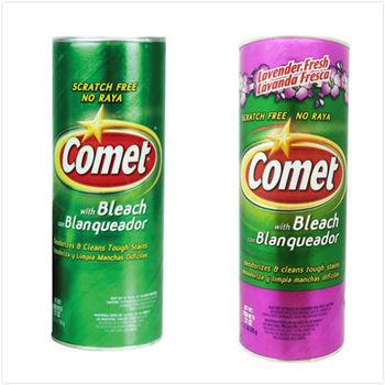 【美國 Comet】萬用強力去污粉-原始香味+薰衣草香(21oz/595g)*2(可任選互搭)