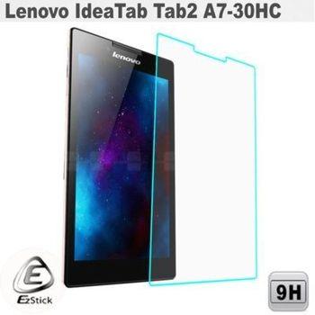 【EZstick】Lenovo IdeaTab Tab 2 A7-30HC 平板專用 鏡面鋼化玻璃膜 靜電吸附
