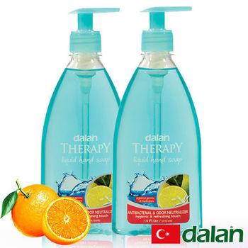 【土耳其dalan】抗菌&消除異味健康洗手乳 400ml X2  呵護組