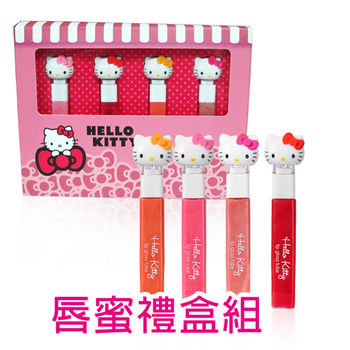 【iBV.18】Hello Kitty 蜜糖水漾唇蜜禮盒組(HK09A02)