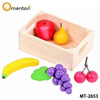 Mentari 安全無毒木製玩具 小寶貝的健康水果