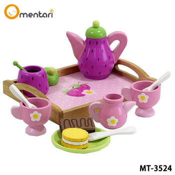 Mentari 玩具家家酒系列  小淑女草莓下午茶