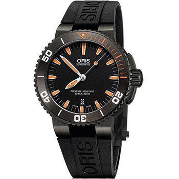Oris Aquis 時間之海300米潛水機械腕錶 0173376534259-0742634GEB