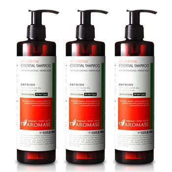 Aromase艾瑪絲 舒敏平衡洗髮精(350ml) 3入組