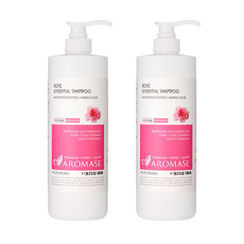 Aromase艾瑪絲 草本玫瑰胺基酸洗髮精(1000ml) 2入組