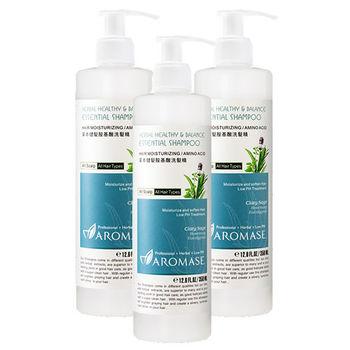 Aromase艾瑪絲 草本健髮胺基酸洗髮精(350ml) 3入組