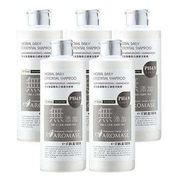 Aromase艾瑪絲 草本胺基酸每日健康洗髮精(500ml) 5入組