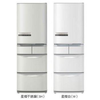 【HITACHI日立】420L日製變頻五門冰箱RS42EMJL(不鏽鋼SH)