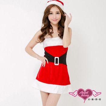 【天使霓裳】簡約凡爾賽 狂熱聖誕舞會 耶誕服 角色服(紅)-ZD80520
