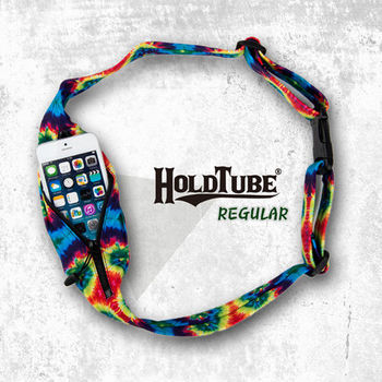 【HOLDTUBE】運動腰帶-單口袋-五彩萬花筒