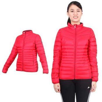 【PUMA】女輕量羽絨外套- 立領外套 保暖外套 紅