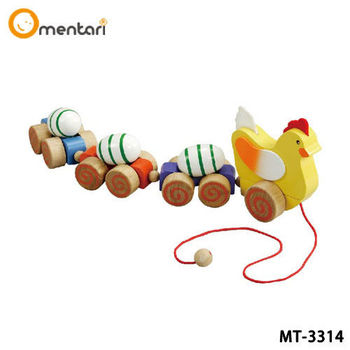 Mentari 幼兒系列 咕嘰咕雞手拉車