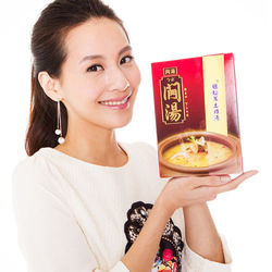 修本智庫煲湯-姬松茸土雞湯(320g/包,共東森購物手機版1包)