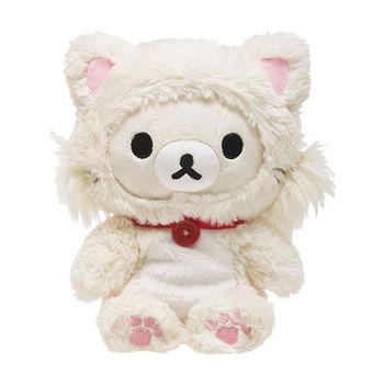 San-X 拉拉熊快樂貓生活系列毛絨公仔 懶妹