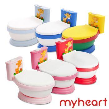 【myheart】台灣製造 專利音樂兒童馬桶-6色可選購