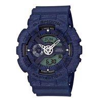 G ^#45 SHOCK 超 針織紋路  腕錶 ^#45 藍 ^#45 GA ^#45 1