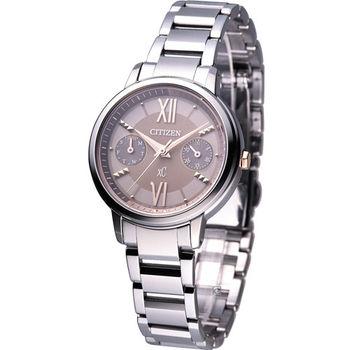 星辰 CITIZEN XC系列 蜜糖甜心光動能時尚腕錶 FD1010-53W