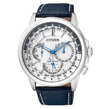 CITIZEN Eco-Drive 海洋探險隊時尚優質男士腕錶-白-BU2020-11A