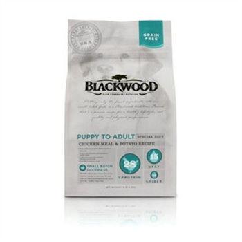 【Blackwood】柏萊富 無榖全齡低敏純淨(雞肉+碗豆)30磅 X 1包