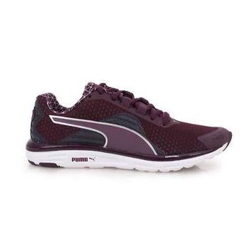 【PUMA】FAAS 500 V4 PWRWARM WN 女慢跑鞋- 路跑 深紫銀