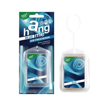 綠香氛Natural Fresh歐洲原裝進口~HANG ME系列有機芳香吊飾 車用/室內空間適用-BU藍色