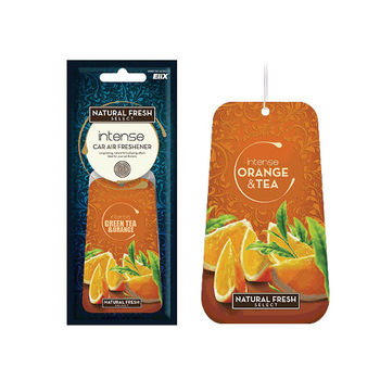 綠香氛Natural Fresh波蘭進口~芳香/香水紙卡/吊飾/吊卡系列-OT水果茶-1組3入