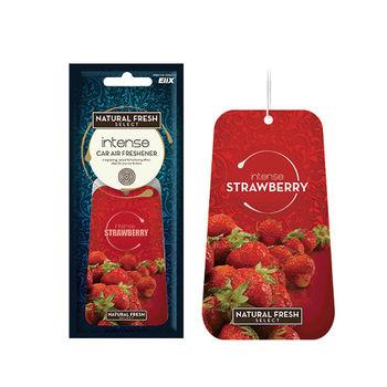 綠香氛Natural Fresh波蘭進口~芳香/香水紙卡/吊飾/吊卡系列-ST草莓-1組3入