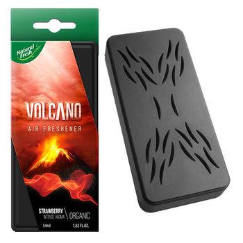 綠香氛Natural Fresh波蘭原裝進口~(火山)有機香氛系列~ VOLCANO ORGANIC車用/居家辦公室內空間適用-ST草莓