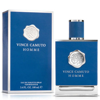 VINCE CAMUTO 文斯.卡穆托 HOMME 藍色地中海男性淡香水(100ml)-送品牌小香+針管