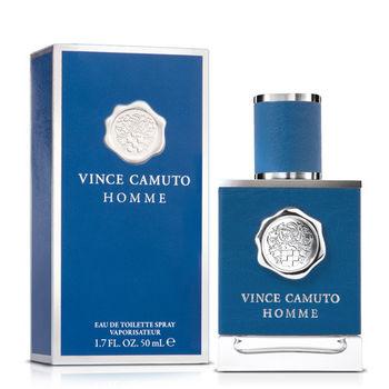 VINCE CAMUTO 文斯.卡穆托 HOMME 藍色地中海男性淡香水(50ml)-送品牌小香+針管