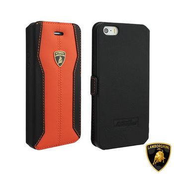 藍寶堅尼 Lamborghini iPhone 6/6S (H-D1)高質感皮套(橘)