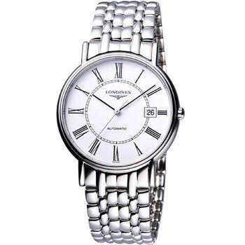 LONGINES Presence經典羅馬機械腕錶 L48214116