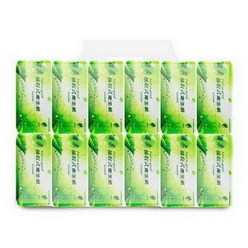 百吉牌滿柔環保抽取式衛生紙110抽*12包