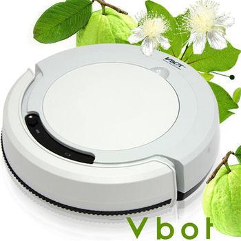 Vbot 智慧型番石榴葉香氛掃地機器人(掃+擦+吸)公主機(淺灰)