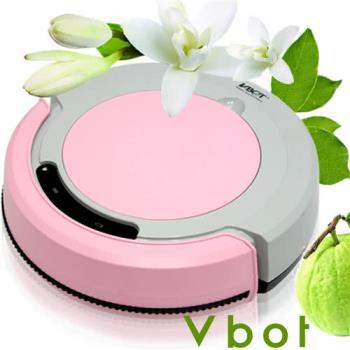 Vbot 智慧型複合香氛掃地機器人(掃+擦+吸)公主機(粉紅)