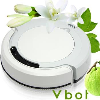 Vbot 智慧型複合香氛掃地機器人(掃+擦+吸)公主機(淺灰)
