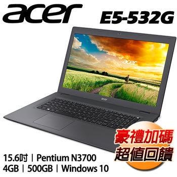 ACER 宏碁 E5-532G-P4YU 15.6吋 N3700四核心 獨顯NV920 2G Win10超值筆電 時尚灰