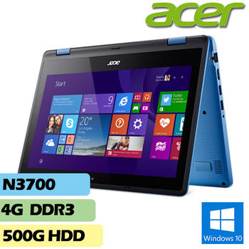 ACER 宏碁 R3-131T-P4QQ 11.6吋 N3700 4G記憶體 500G硬碟 多點觸控 翻轉輕薄筆電
