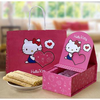 【Hello Kitty】 芝麻蛋捲禮盒-相片版